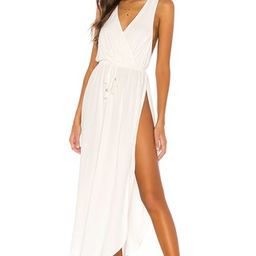 L*SPACE Kenzie Cover Up Dress in Cream from Revolve.com   Revolve Clothing (Global)