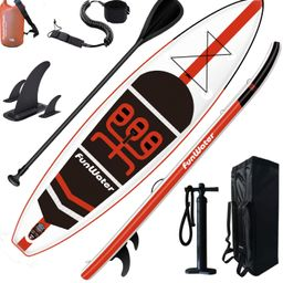 FunWater SUP Inflatable Stand Up Paddle Board 11'x33''x6'' Ultra-Light Paddleboard with ISUP Acce... | Amazon (CA)