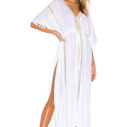 Michael Stars Farrah Caftan in White from Revolve.com   Revolve Clothing (Global)