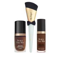 Too Faced Ganache Born This Way Complexion & Brush Set   HSN