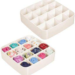 mDesign Plastic Closet Accessory Drawer Organizer for Dresser, Closet, Bedroom, Bathroom, Entrywa... | Amazon (US)