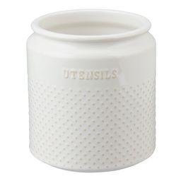 Better Homes & Gardens Ceramic Dotted Hobnail Utensil Holder | Walmart (US)