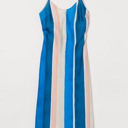 Light beige/blue striped   H&M (US)