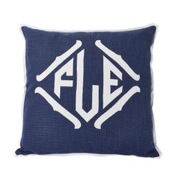 Prussian Applique Pillow   Room 422