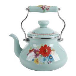 The Pioneer Woman Breezy Blossom Enamel on Steel 1.9-Quart Tea Kettle | Walmart (US)