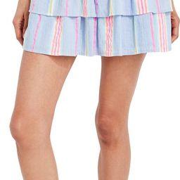 Beachy Stripe Smocked Skirt   Nordstrom