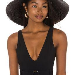 Janessa Leone Janine Hat in Black from Revolve.com | Revolve Clothing (Global)