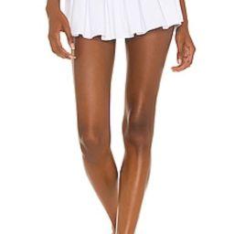 superdown Gabrielle Pleated Wrap Skort in White from Revolve.com   Revolve Clothing (Global)