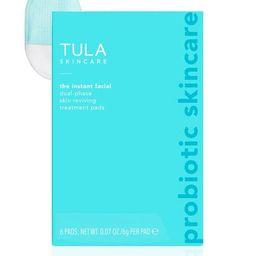 Dual-Phase Skin Reviving Treatment Pads - 6 Pads | Tula Skincare