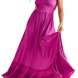 Endless Summer by Free People Extratropical Smocked Maxi Dress   Nordstrom