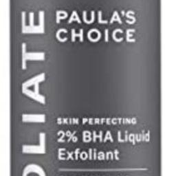 Paulas Choice--SKIN PERFECTING 2% BHA Liquid Salicylic Acid Exfoliant--Facial Exfoliant for Black... | Amazon (US)