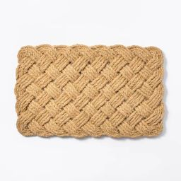 Lovers Knot Door Mat Neutral - Threshold™ designed with Studio McGee | Target