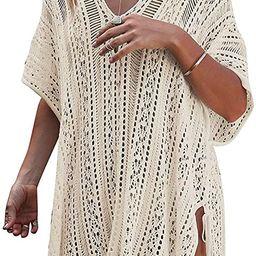 HARHAY Women's Summer Swimsuit Bikini Beach Swimwear Cover up   Amazon (US)