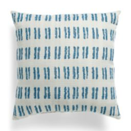Made In Usa 22x22 Indoor Outdoor Textured Pillow | TJ Maxx
