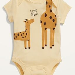 Unisex Short-Sleeve Graphic Bodysuit for Baby | Old Navy (US)