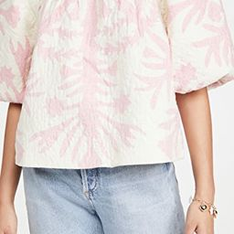 Henrietta Print Puff Sleeve Top | Shopbop