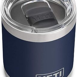 YETI Rambler 10 oz Lowball, Vacuum Insulated, Stainless Steel with MagSlider Lid | Amazon (US)