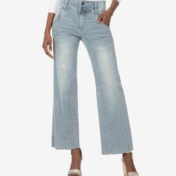 Charlotte High Rise Culotte (Conclusive Wash) | Kut From Kloth