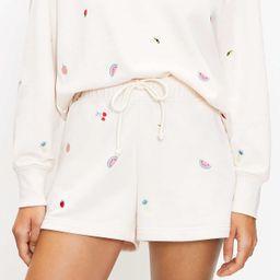 Lou & Grey Fruity Cozy Cotton Terry Shorts | LOFT