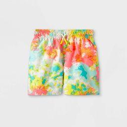 Toddler Boys' Tie-Dye Drawstring Swim Trunks - Cat & Jack™   Target