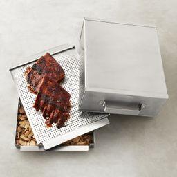 Smoker Box     Smoker Box & Chips Set   Williams-Sonoma