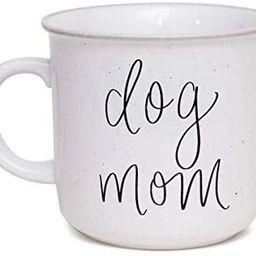 Sweet Water Decor Dog Mom Coffee Mug | Cute 15oz Ceramic Campfire Style Coffee Cup Microwave & Di... | Amazon (US)