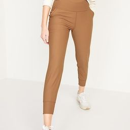 High-Waisted PowerSoft 7/8-Length Joggers for Women | Old Navy (US)