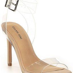 Martiinne Clear Strappy Sandals | Dillards