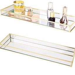 Affogato Sink Vanity Tray Mirror Bathroom Storage Tray, Toilet Tank Organizer, Bathtub Tray, Toot...   Amazon (US)