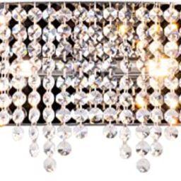 Luenfat Crystal Bathroom Vanity Lights, Glam Crystal Wall Scones Lighting Fixture for Living Dini...   Amazon (US)