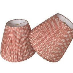 Pleated  Lampshade-Rose  Lamp Shade-Floral Pleated sconce  chandelier shade -Custom Made-To-Order...   Etsy (CAD)