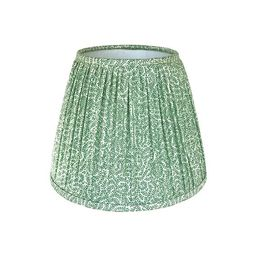 Green Gathered Lamp Shade, Custom Made with Mulitiple Color and Size Options   Etsy (CAD)