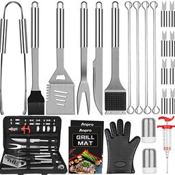 Anpro Grilling Accessories Grill Kit- Grill Set, Grilling Utensil Set, BBQ Accessories, BBQ Kit, ... | Amazon (US)