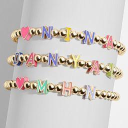 Gold Filled Custom Cutout Pisa Bracelet-Small | BaubleBar (US)