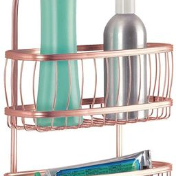 iDesign York Metal Wire Hanging Shower Caddy, Extra Wide Space for Shampoo, Conditioner, and Soap... | Amazon (US)