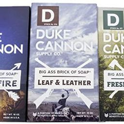 Duke Cannon Supply Co. - Great American Frontier Men's Big Brick of Soap Set (3 Pack Assortment 1... | Amazon (US)