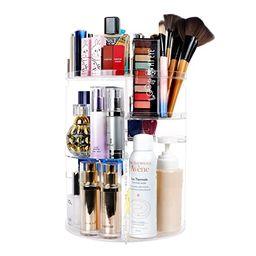 sanipoe 360 Spinning Makeup Organizer, Lazy Susan Rack Cosmetic Carousel Storage Shelf, Great for... | Amazon (US)