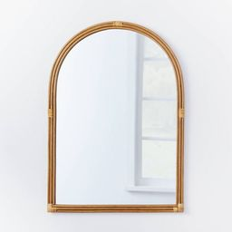 """24"""" x 34"""" Rattan Arched Wall Mirror - Threshold™ designed with Studio McGee 