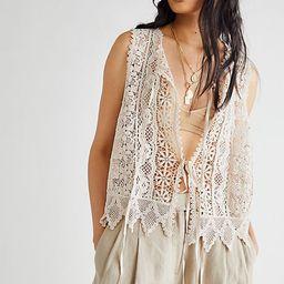 Leah Lace Vest | Free People (US)