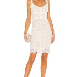 HEARTLOOM Adora Mini Dress in Eggshell from Revolve.com | Revolve Clothing (Global)