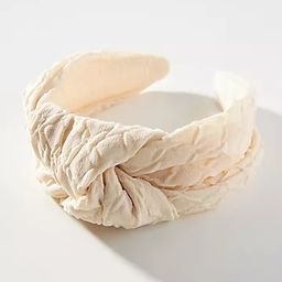 Cloud Knotted Headband   Anthropologie (US)