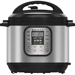 Instant Pot Duo 7-in-1 Electric Pressure Cooker, Slow Cooker, Rice Cooker, Steamer, Saute, Yogurt... | Amazon (US)