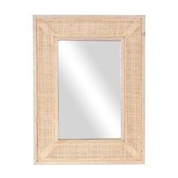 Rectangular Cane Mirror | Megan Molten