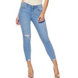 Sofia Jeans by Sofia Vergara Women's Valentina Mid-Rise Ripped Skinny Ankle Jeans   Walmart (US)