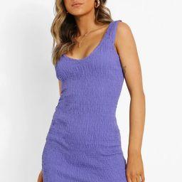 V Neck Strappy Bodycon Dress | Boohoo.com (US & CA)
