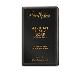 SheaMoisture African Black Soap Face and Body Bar Soap - 3.5oz | Target