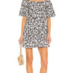 FAITHFULL THE BRAND Eryn Mini Dress in Fiorella Floral Print from Revolve.com | Revolve Clothing (Global)
