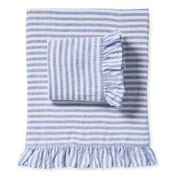 Nantucket Stripe Sheet Set   Serena and Lily