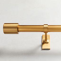 Oversized Adjustable Metal Rod - Antique Brass | West Elm (US)