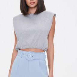 Padded Sleeveless Crop Top   Forever 21 (US)